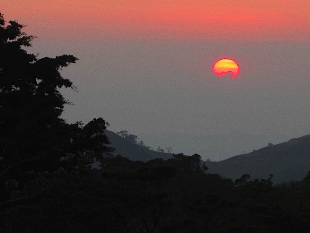Sunset in Monteverde, Costa Rica