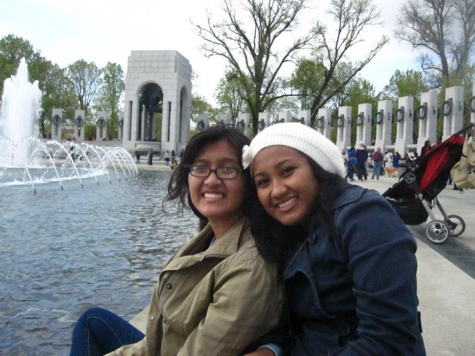 WWII Memorial in DC, 2012
