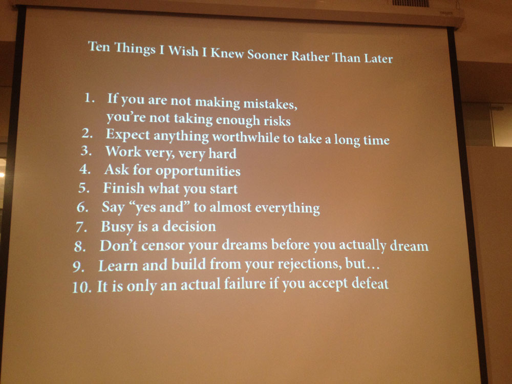 Debbie Millman: 10 Things I Wish I Knew Sooner Rather Than Later
