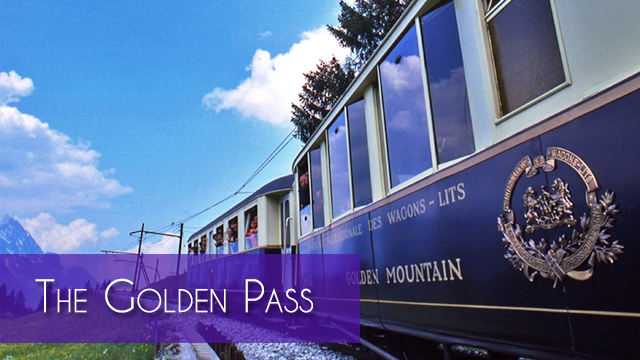 The Golden Pass train