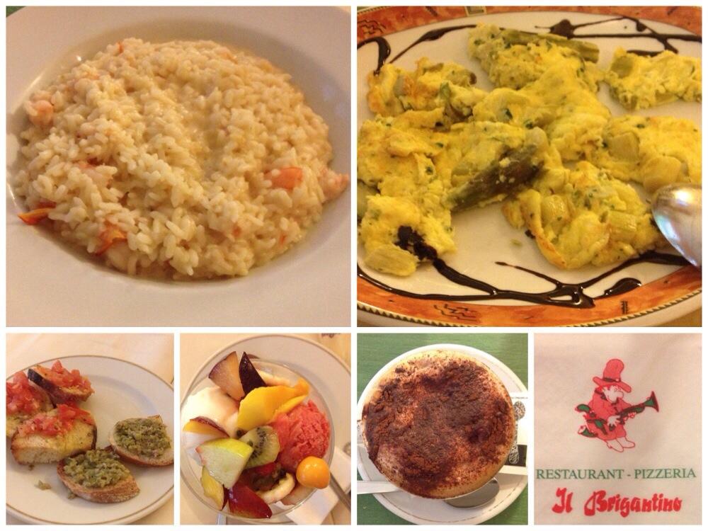 Dinner at Il Brigantine