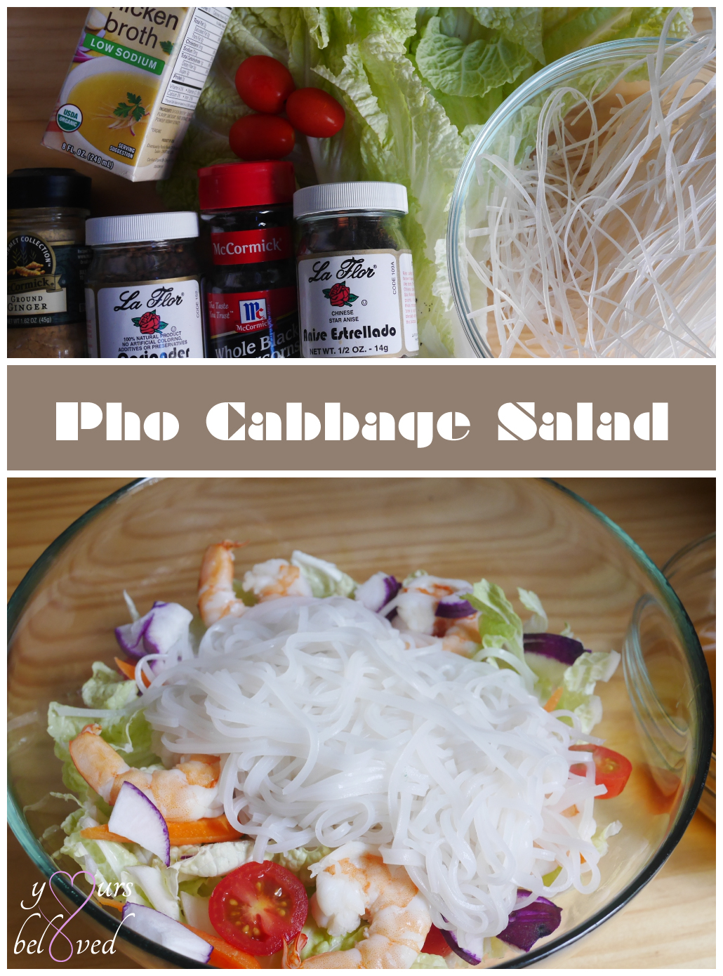 Day 26: Pho Cabbage Salad