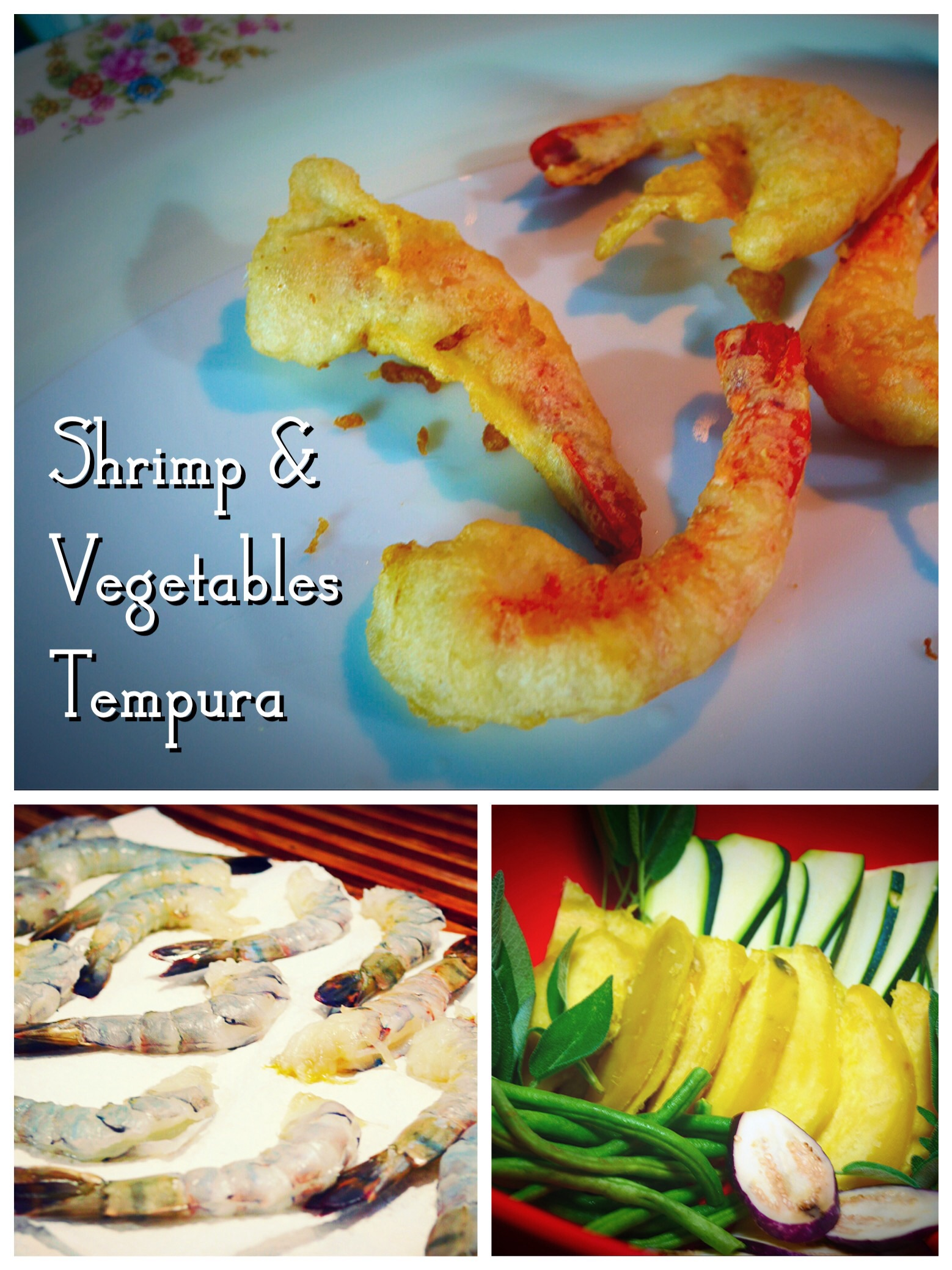 Shrimp & Vegetables Tempura
